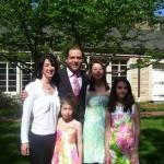 Lane family photo in High Point, North Carolina