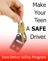Free Access to Our Exclusive Teen Driver Safety Program Can Help You Have Peace of Mind Knowing Your Teen is a Safe Driver.