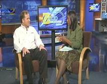 Tom local news interview
