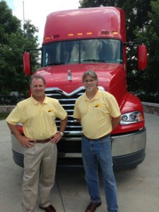 Tom and Ken on Truck