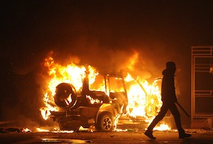 Would Your Truck and Trailer be Covered if Damaged in a Riot?